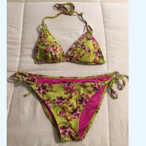 Betsey Johnson String Tie Bikini